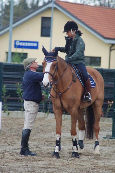 Chiaralisa Randone con Albert Voorn a Gozzano